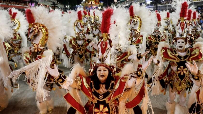 El Carnaval de Brasil en 2021 está previsto para todo el país entre el viernes 12 de febrero y el mediodía del miércoles 17, en un período de festejos y jolgorio en casi todas las ciudades.(EFE)