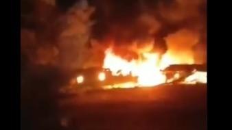 Se informó que a bordo del avión se encontraban 27 personas, de los cuales siete eran oficiales y 20 cadetes de la Universidad de la Fuerza Aérea Nacional Iván Kozhedub.