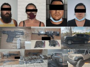 Autoridades reportaron en Sonoyta algunas detenciones en la última semana.