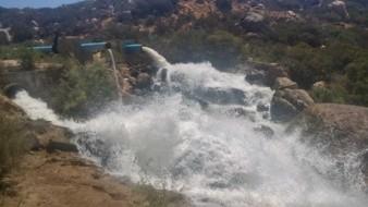 Acueducto Río Colorado-Tijuana, el cual abastece del vital liquido a Zona Costa.