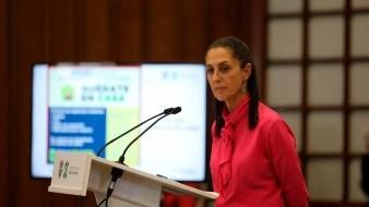 La alcaldesa capitalina, precisó que el estudio clínico se llevará a cabo bajo la coordinación del Instituto Nacional de Ciencias Médicas y Nutrición Salvador Zubirán y la Secretaría de Salud capitalina.