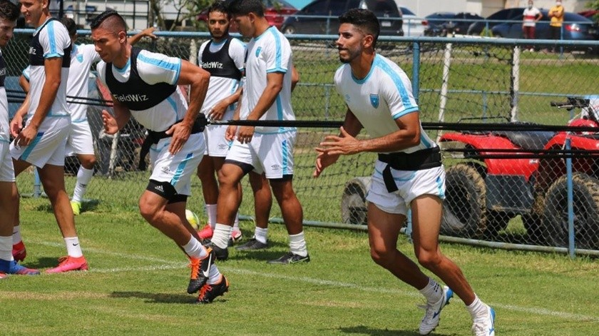 Guatemala sostuvo una concentración previo al juego de México(Instagram)