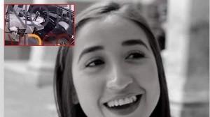 Jessica González: Captan a sospechoso de feminicidio revisando cajuela; lo rastrean