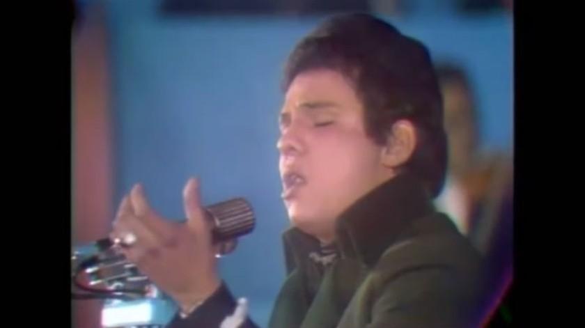 José José obtuvo el tercer lugar en el concurso.(Imagen tomada de video)