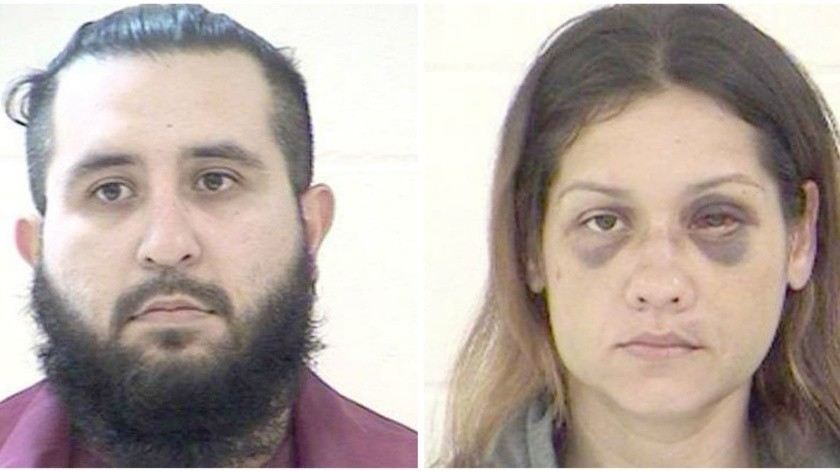 Armando Barren, de 31 años de edad; y Britany Barren, de 30 años.(New Hampshire State Police)