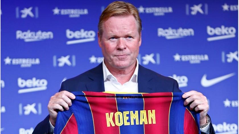 Ronald Koeman llegó este verano al Barcelona.(AP)