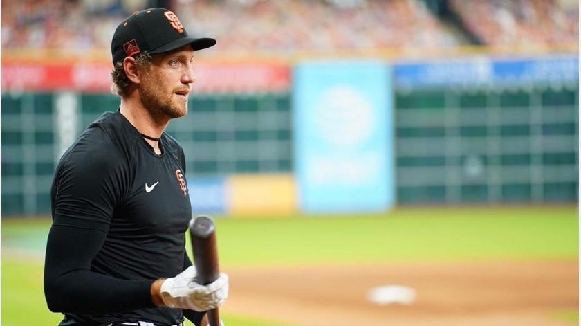 ¡Adiós MLB! Hunter Pence anuncia su retiro del béisbol(Instagram @hunterpence)