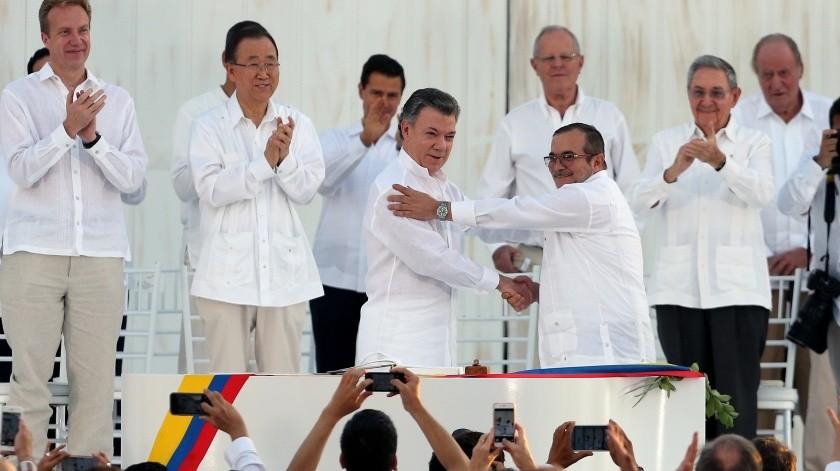 Acuerdo de paz entre Gobierno de Colombia y las FARC cumple cuatro años con un conflicto recrudecido(AP)