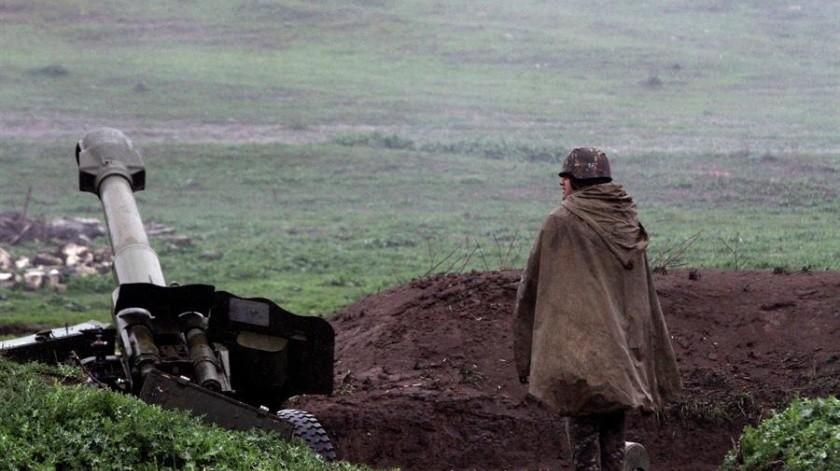 Armenia y Azerbaiyán se encuentran en estado de guerra desde 1991, si bien tres años después firmaron un alto el fuego, vigente hasta hoy día aunque con violaciones denunciadas por ambas partes.(EFE)