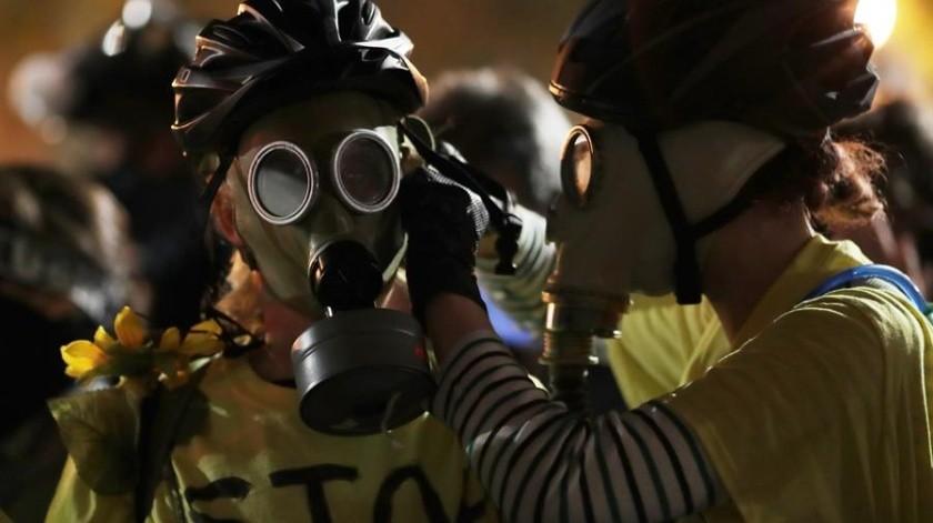 El Noroeste de la ciudad ha sido testigo durante cuatro meses de protestas contra la violencia policial y el racismo(EFE)