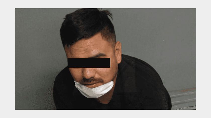 Arrestan a hombre armado tras amenazar a adolescente(Cortesía)