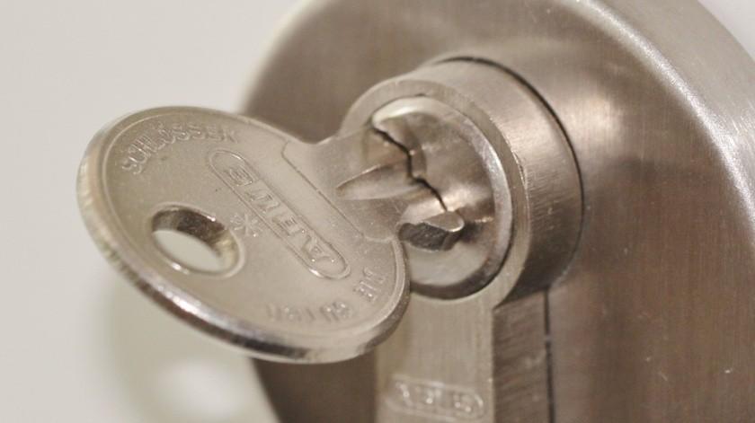 Con estos sencillos pasos puedes ahorrarte el dinero del cerrajero.(Foto ilustrativa)
