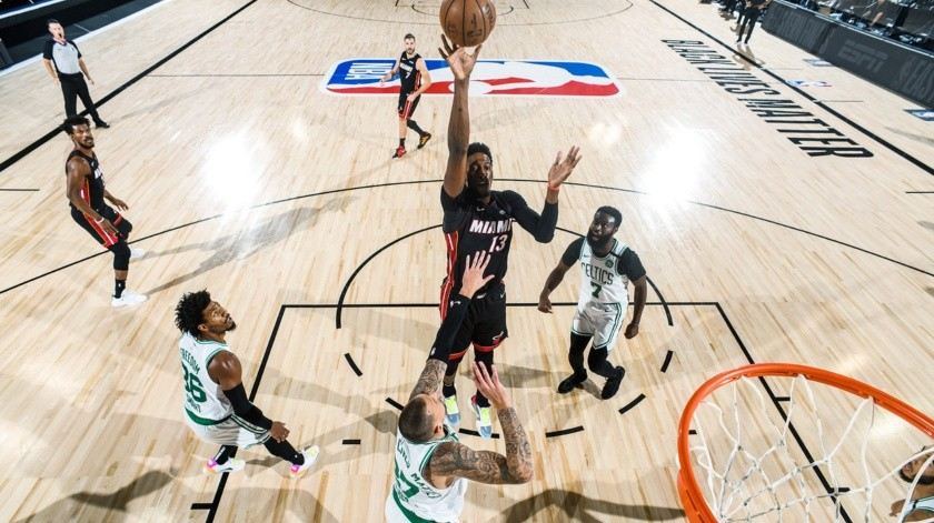 El Heat de Miami eliminó a los Celtics.(@MiamiHeat)