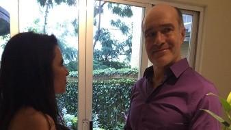 Celebran Yolanda Ventura y Odiseo Bichir tres años de casados con fotos de su boda