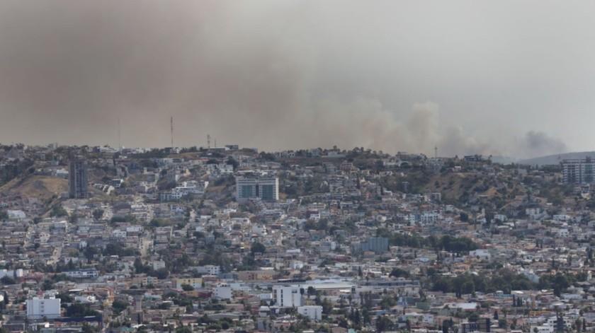 Los vientos de Santa Ana provocan muchos incendios en la ciudad.