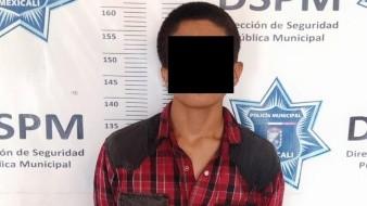 """""""Vecino vigilante"""" logra arresto de ladrón"""