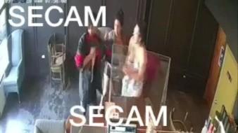 Video: Recuperan auto robado en estacionamiento de café en Tijuana