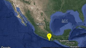 El Servicio Sismológico Nacional (SSN)reportó un sismo de magnitud preliminar de 4.9 con epicentro en Pinotepa Nacional, Oaxaca.