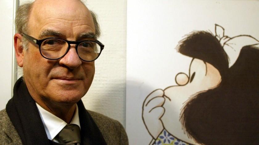 Quino fue el creador de Mafalda.(Ilustrativa/GH.)