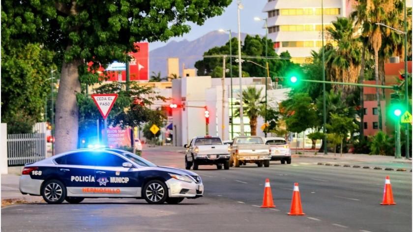 De acuerdo a la Policía de Hermosillo otros 6 agentes han sido suspendidos eso en concordancia con la política de cero tolerancia de la alcaldesa Celida López Cárdenas.(Archivo GH)