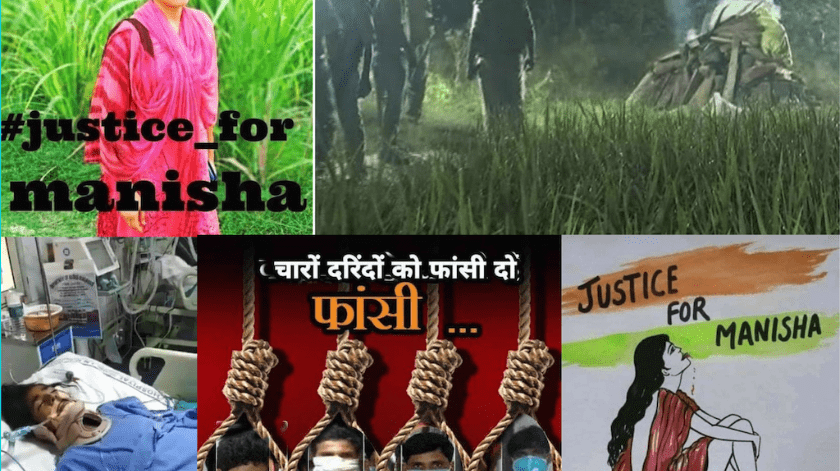 Un gran descontento social ha provocado el brutal asesinato de Manisha.(Especial)