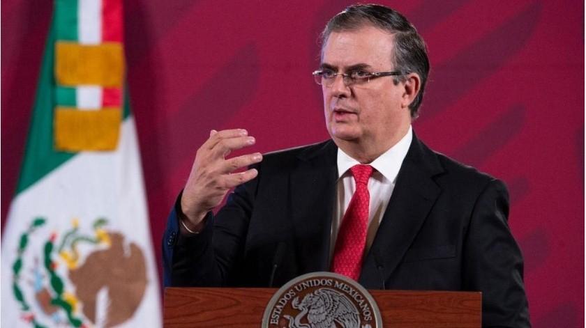 Ebrard Casaubón reconoció que hay filtros menos estrictos que otros.(Gobierno de México)