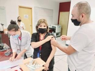 Inicia capacitación con integrantes del Sector Salud sobre vacuna de influenza