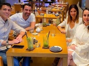 ¡Que gran amistad! Xavi Hernández presume fotografía junto al mexicano Héctor Moreno