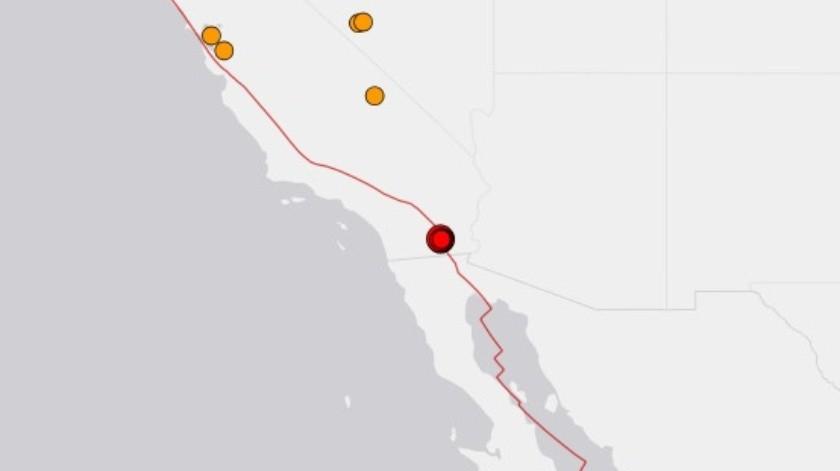 Nuevo sismo de 4.6 gradosse siente en Mexicali