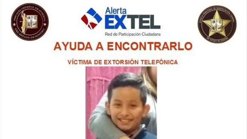 ¡Ayuda a encontrar a Pablo Alán! Sufre extorsión telefónica en Guaymas(Especial)