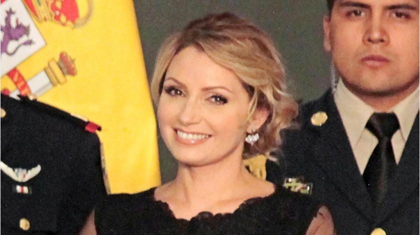 Angélica Rivera estuvo en el ojo del huracán por el escándalo de la Casa Blanca en México.(Agencia México)