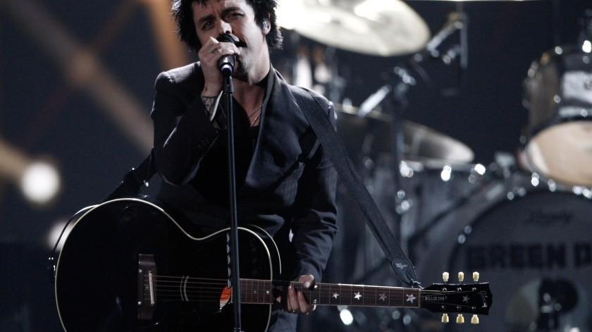 El vocalista de Green Day se vuelve tendencia en Twitter debido a que septiembre ha llegado a su fin.(AP, AP)