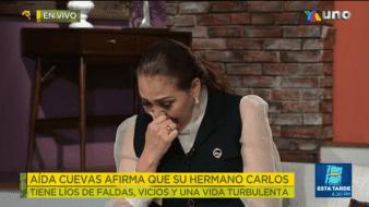 Por primera vez en meses, Aída Cuevas rompe el silencio y da una entrevista sobre sus problemas legales con su hermano Carlos Cuevas.
