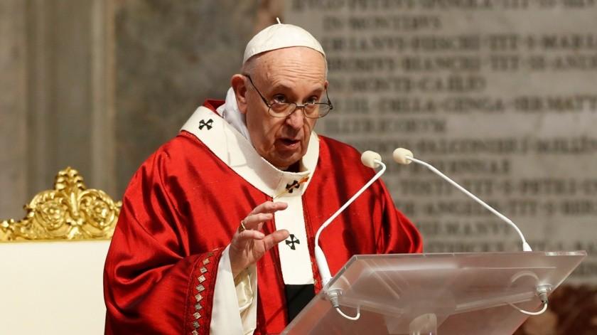 """""""El Papa ya ha dicho claramente que personajes políticos no son recibidos durante períodos electorales"""", explicó el secretario de Estado del Vaticano, cardenal Pietro Parolin, al anunciar la medida.(AP)"""