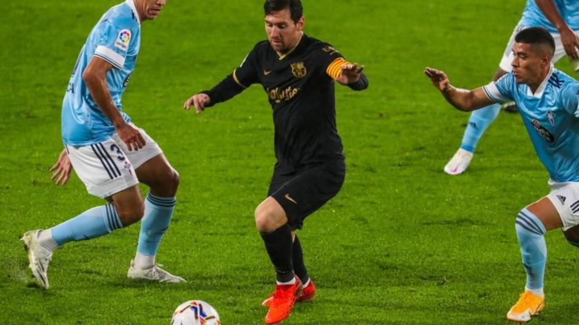 Lionel Messi se mostró participativo con el Barcelona(Twitter)