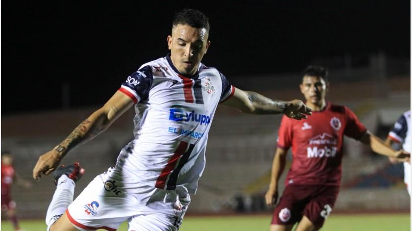 Raí Villa marcó en la derrota contra Mineros.(Cortesía)