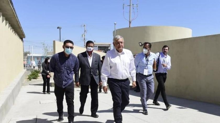 El presidente de México realiza este día una gira de trabajo por Chihuahua.(Especial)