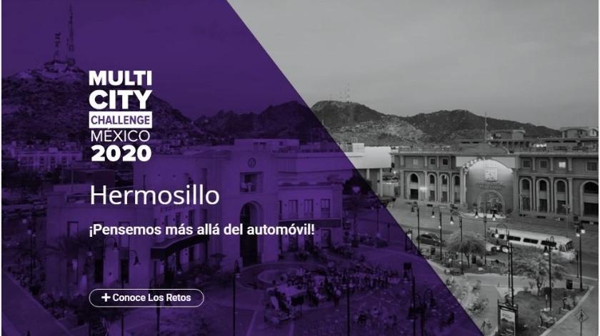 Hermosillo participará en el Multicity Challenge 2020, para resolver movilidad(Especial)