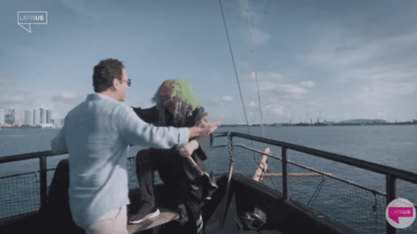 En las escenas y en el título del video se observa que se encuentran en Miami.
