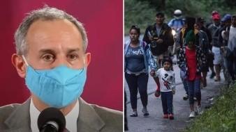 López-Gatell niega que caravana migrante sea riesgo de salud para México ante pandemia