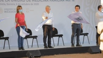 VIDEO: Inicia construcción de la Unidad de Medicina Familiar No. 12 del IMSS en Agua Prieta, Sonora