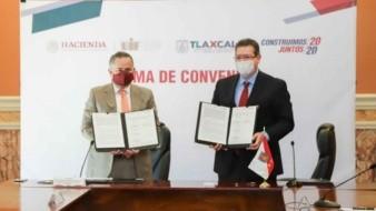 UIF y Gobierno de Tlaxcala crean Unidad de Inteligencia Patrimonial; buscan combatir crimen organizado