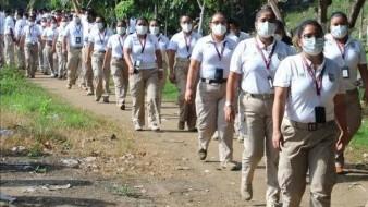 Gobierno Federal despliega a Guardia Nacional, Sedena e INM ante avance de caravana migrante en frontera sur