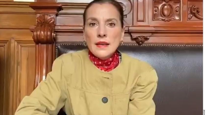 Beatriz Gutiérrez Müller comentó que nadie debe de desear el mal a nadie, esto luego de los desafortunados commentarios del escritorFrancisco Martín Moreno.