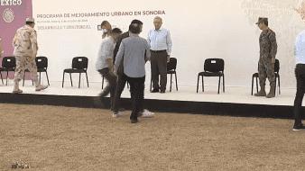 Presenta AMLO programa de Mejoramiento Urbano en Hermosillo