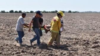 Aparatoso accidente deja cuatro lesionados en carretera de Navojoa