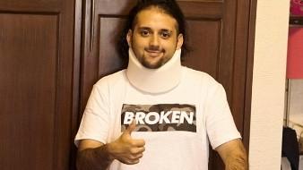 La recuperación de Daniel ha sido tan buena que ya puede caminar con andadera