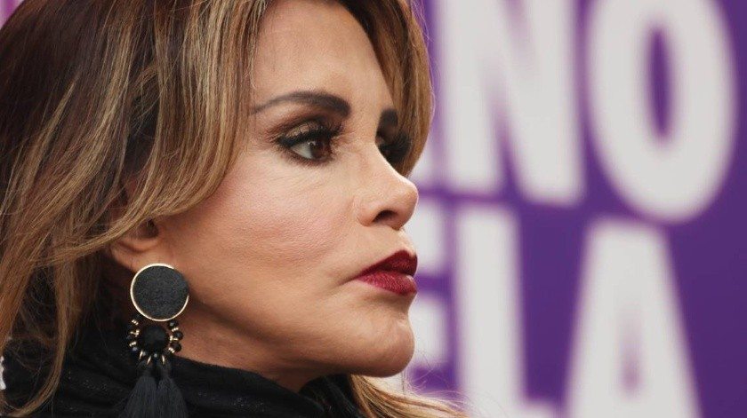 Lucia Mendez lamenta muerte de Alfredo Palacios