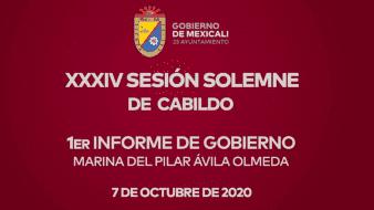 1er Informe de Gobierno 23 Ayuntamiento de Mexicali