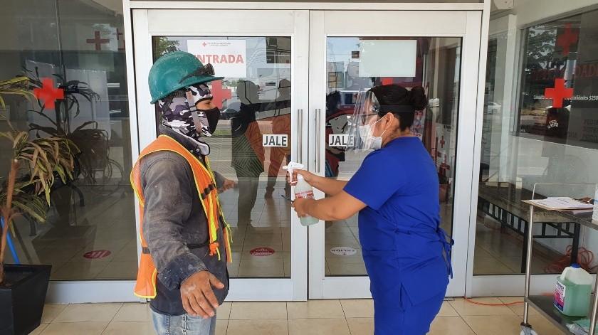 Mientras no exista vacuna para Covid-19, se deberán mantener los protocolos de higiene, señalan las autoridades(Julián Ortega)